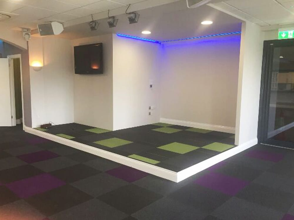 Carpet Tiles Commercial Fitment